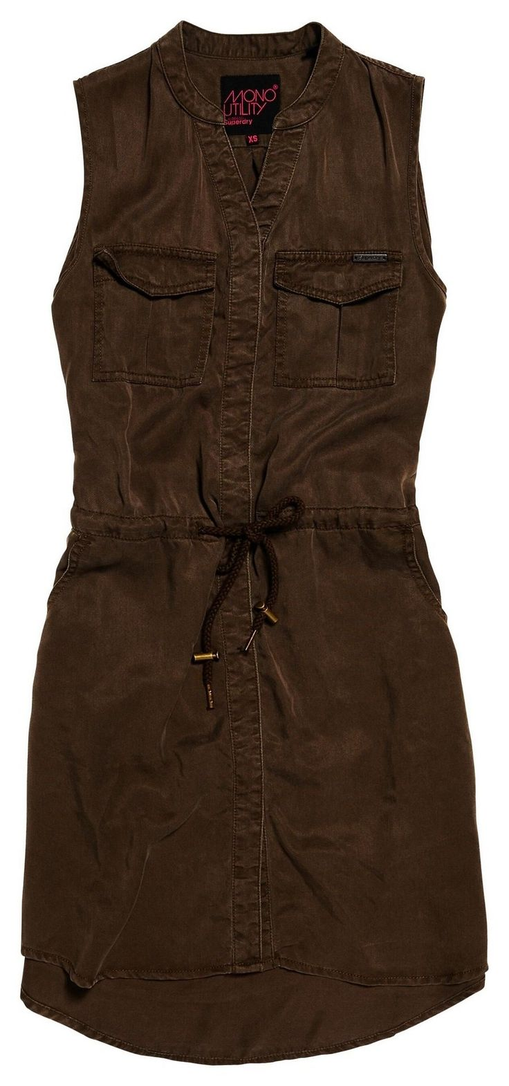 Superdry - Utility Shirt Dress
