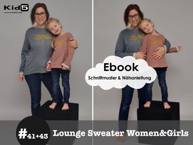 #41 #43 Lounge Sweater Women + Girl eBook Set