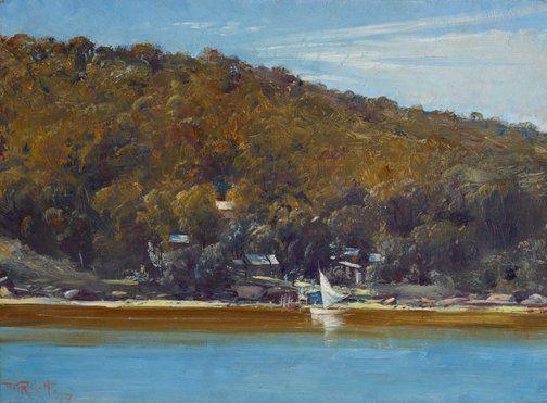The camp, Sirius Cove - Tom Roberts