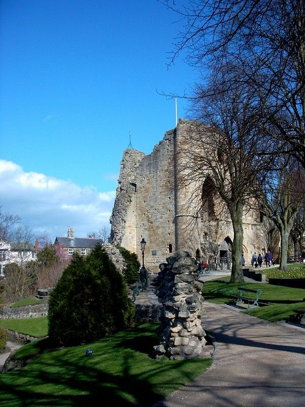 Knaresborough Castle - Historic Sites - The White Goddess