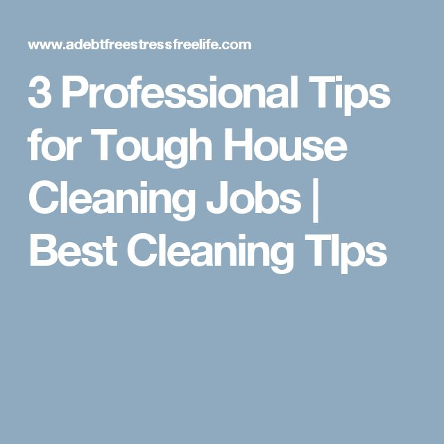 10  best ideas about house cleaning jobs on pinterest