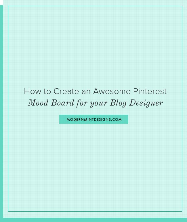 How To Create An Awesome Pinterest Mood Board For Your