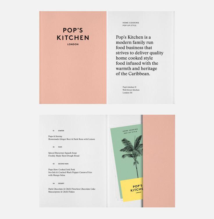 Pop's Kitchen —Identity, 2016 on Behance