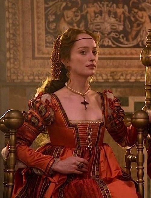 The Character of Giulia Farnese from 'The Borgias.'