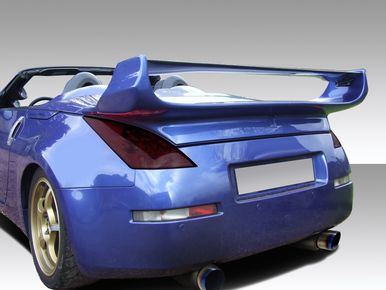 Want to make your 350Z stand out above the rest? Then check out our 2003-2008 Nissan 350Z Convertible Vader 3 Duraflex Body Kit-Wing/Spoiler. SKU: 109082, For more info contact us at 714.614.6087 M-F 10AM-5PM (PST)! Mention this post when you order to get special pricing! #nissan #nissan350z #350z #bodykit