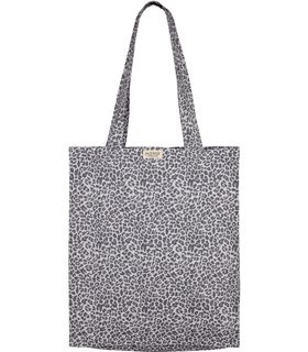 Shoppingnet i grå leopardprint fra Marmar - hurtig levering