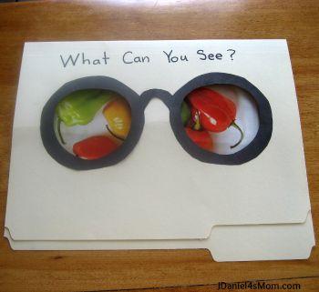 What Do You See Folder? Visual closure