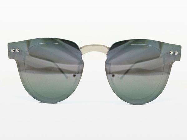 Spitfire - Sharper Edge 2 Clear Sunglasses, Silver Mirror Lenses