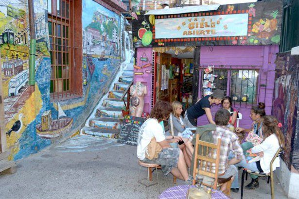 Valparaiso open air museum