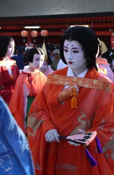 Sumiyoshi Festival in Osaka