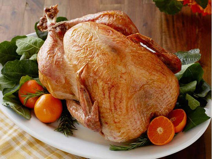 No-Baste, No-Bother Roasted Turkey recipe from Trisha Yearwood via Food Network