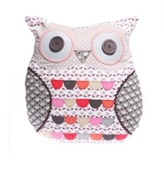 Grey Owl Cushion
