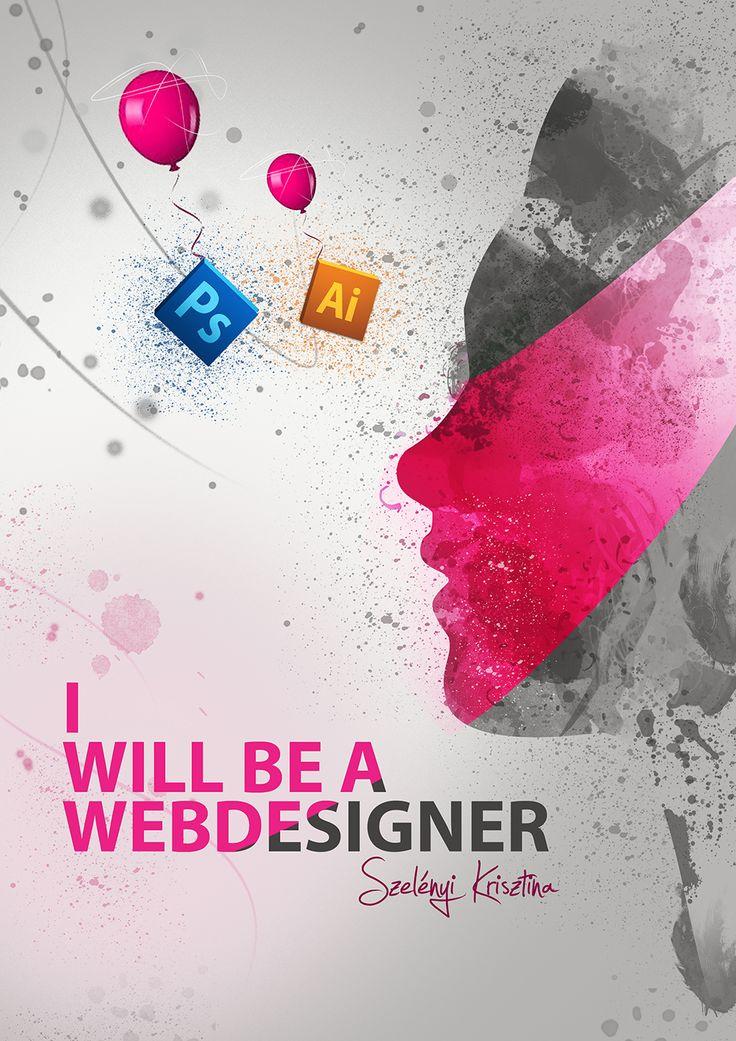 Szelényi Krisztina webdesigner hallgatóm design posztere