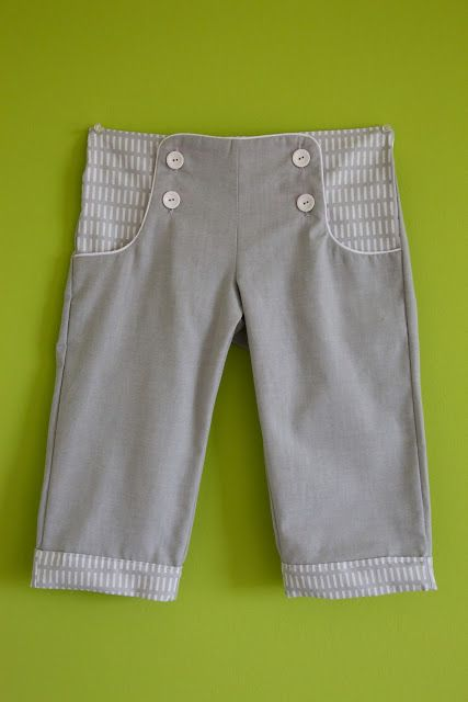 sailor pants FREE sewing pattern