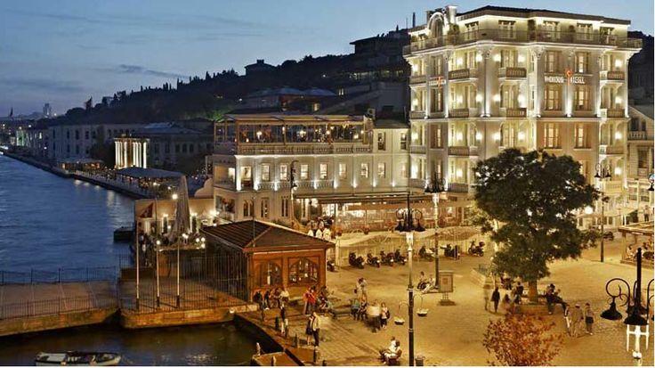 The House Hotel Bosphorus by Night. Luxury hotel in Istanbul Turkey http://www.mediteranique.com/hotels-turkey/istanbul/the-house-hotel-bosphorus/