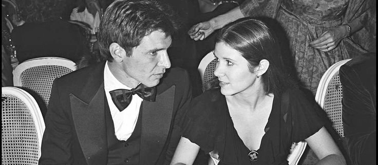 carrie fisher staggeringly beautiful staggered quote | Harrison Ford Carrie Fisher And Mark Hamill Rare And ...