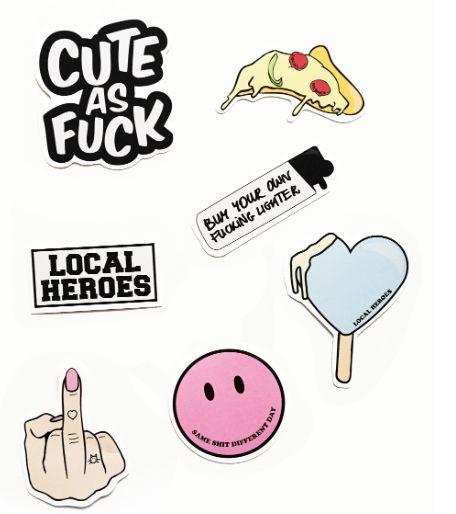 Stickers Pack – NYLON SHOP