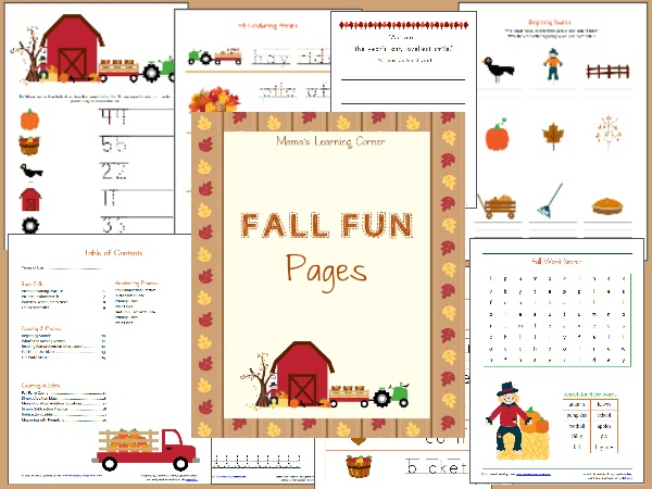 44 Best Fall Worksheets Images On Pinterest