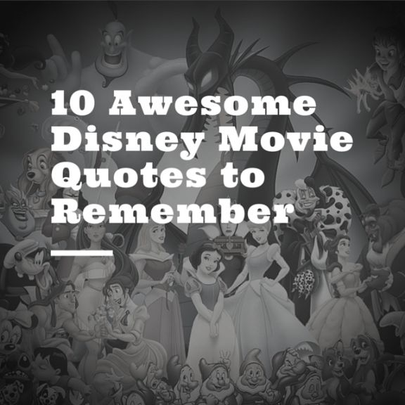 Disney Movie Quotes: 1000+ Images About Feel Awesome Today! On Pinterest