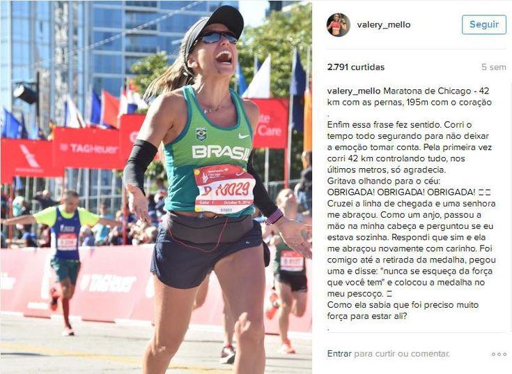 Maratona de Chicago - Inspiração TOP - Maratonista, Contadora e Mãe Entrevista com Valery Mello