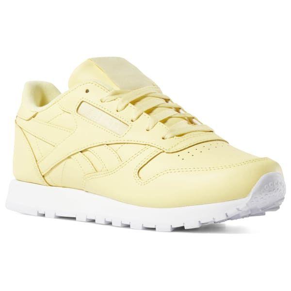 reebok yellow classic
