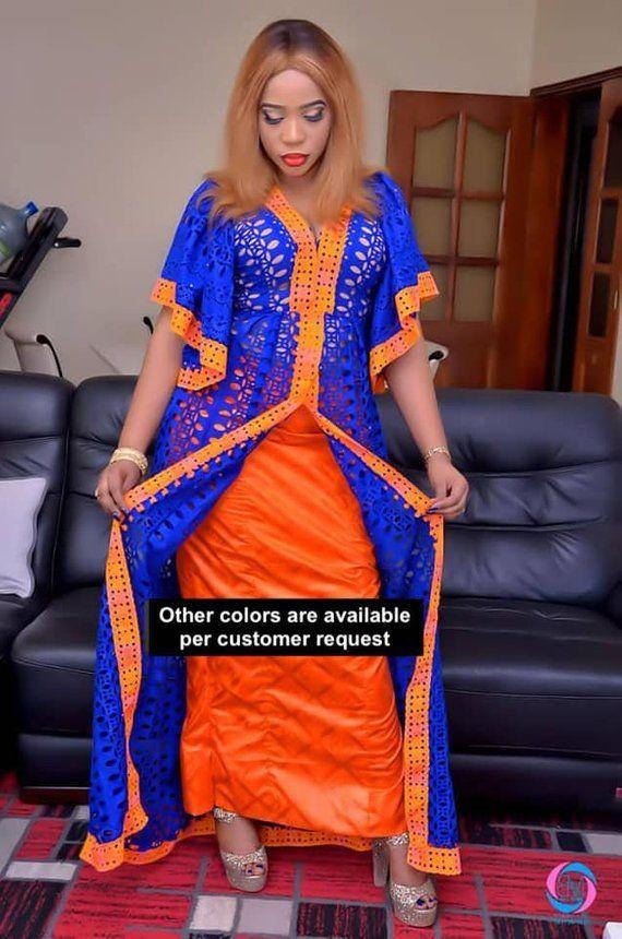 African women's dress/African clothing/African fashion/ African dress/African skirt/Bazin boubou, Plus size dress/Plus size clothing