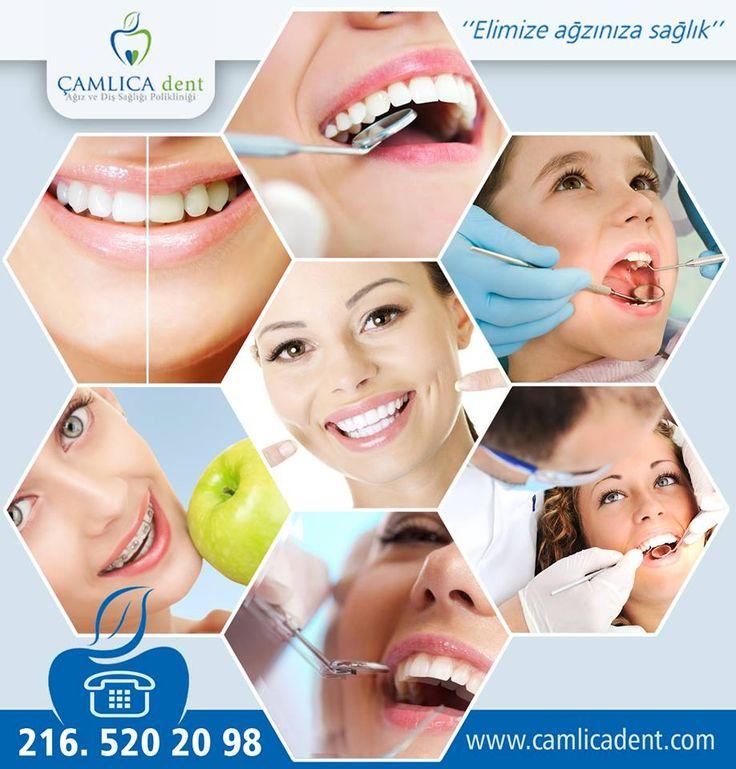 Çamlıca Dent Ağız ve Diş Sağlığı Polikliniği - İmplant, Diş Çekimi ve Dolgusu, Diş Beyazlatma ve daha birçok alanda hastalarımıza hizmet vermekteyiz. Ayrıntılı Bilgi İçin www.camlicadent.com veya 0216 520 20 98