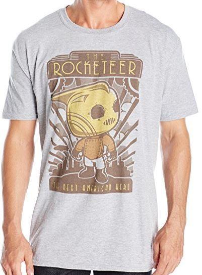 Funko Pop! Movies Rocketeer T-Shirt (affiliate link)