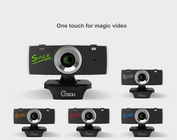 Mini USB 2.0 webcam hd 1080p Webcam Camera Web Cam Pixel Camera cheap webcam with microphone For Skype Computer PC Laptop gucee