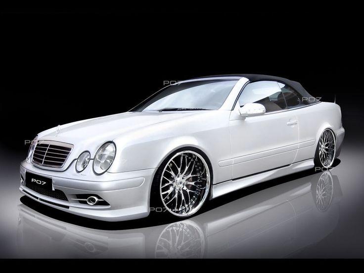 Mercedes CLK W208  FRONTSTANGE HECK STOßSTANGE SEITENSCHWELLER  Body Kit