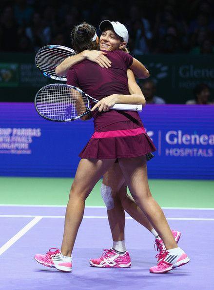 Cara Black Photos - BNP Paribas WTA Finals: Singapore 2014 - Day Seven - Zimbio
