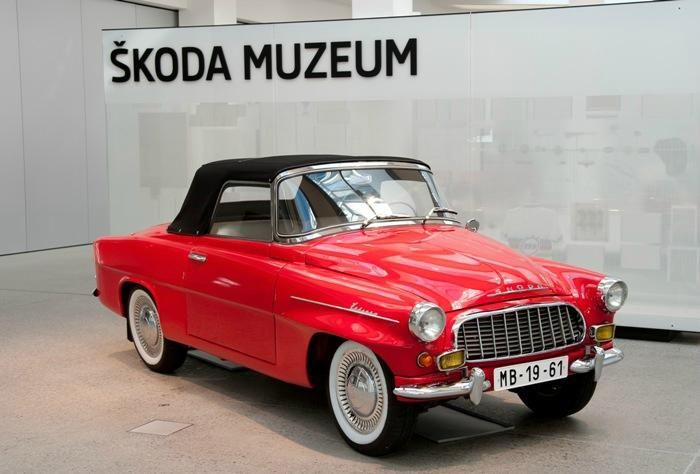 SKODA Muzeum - Mlada Boleslav, Czech Republic