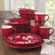 sweepstakes for 16 piece dinnerware set from le creuset. blog. enter 3 times per day. Ends August 8, 2013. 18+