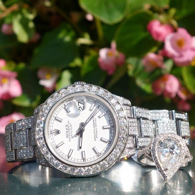 1000+ Images About Luxury Diamond Watches On Pinterest