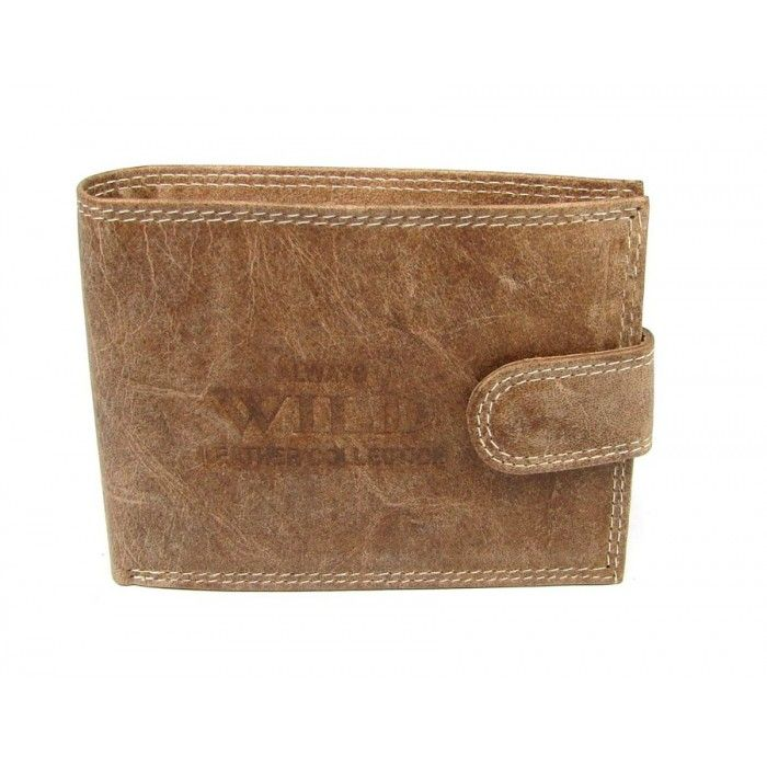 Velká pánská kožená peněženka - peněženky AHAL