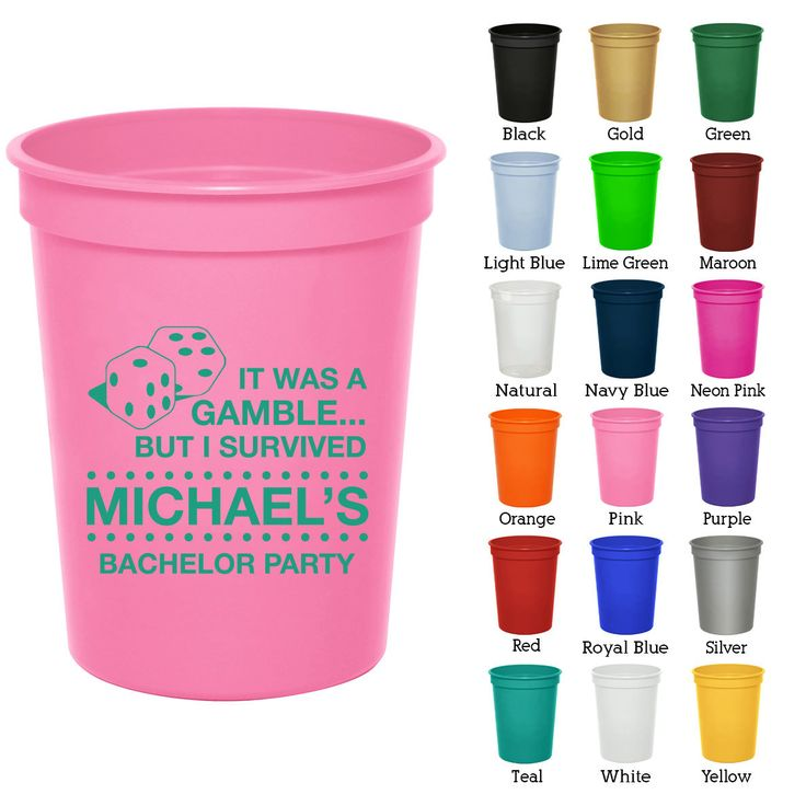 16 oz Bachelor Favor Cups (Clipart 6010) Las Vegas - Bachelorette Party Favors - Bachelorette Party Cups - Party Cups ghj