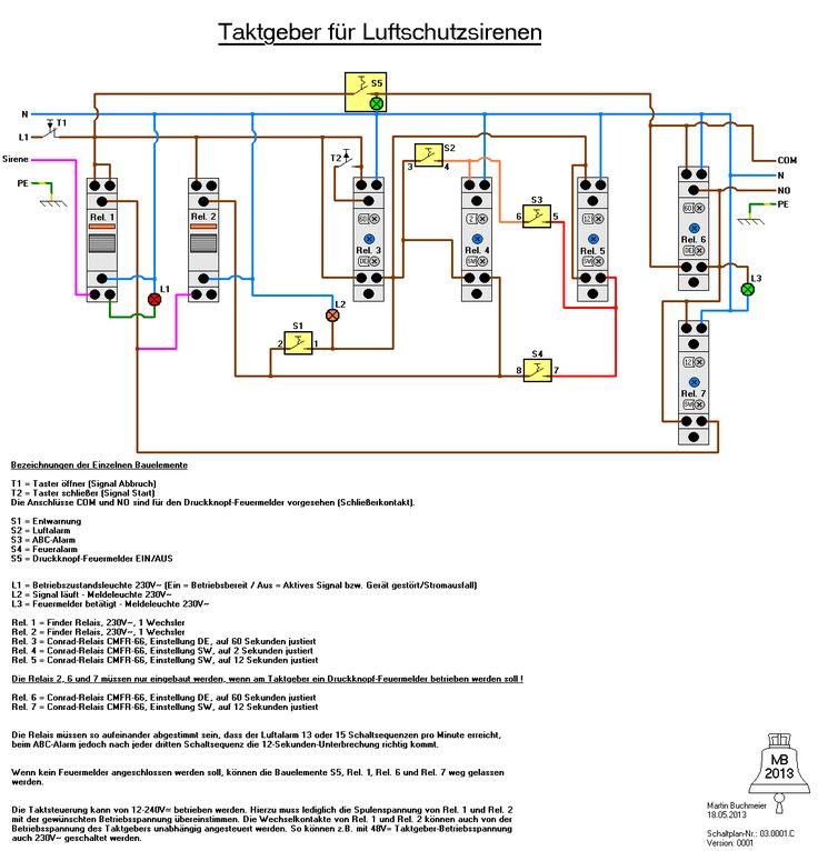 Eigenbau - Taktgeber für Sirenensignale und Druckknopfmelder - Seite 2 - IG Warndienst und Sirenen
