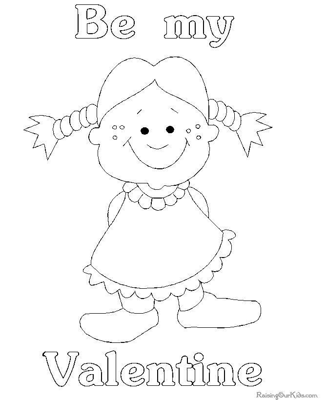 Printable Valentines Day Coloring Pages To Help Kids Of All Ages Practice Their Lots
