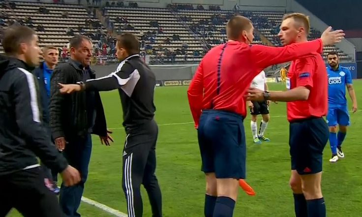 Route one: 75-yard goal disallowed by referee in Ukrainian Premier League – video