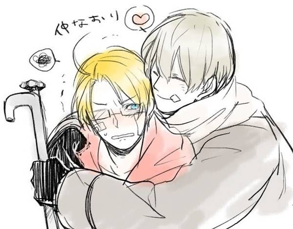 Hetalia russia and america on pinterest russia hetalia and america