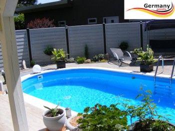 Schwimmbecken Pool 6,00 m x 3,20 m x 1,50 m