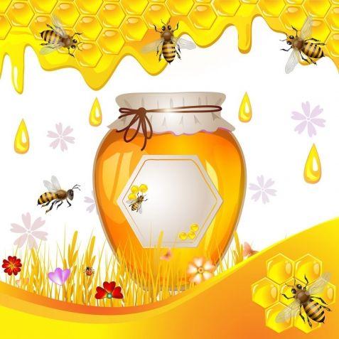 Мед и пчелы / Декупаж / Картинки для декупажа