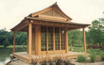 Tea House - asian - Gazebos - New York - Wilkes Architects - Princeton Design Guild