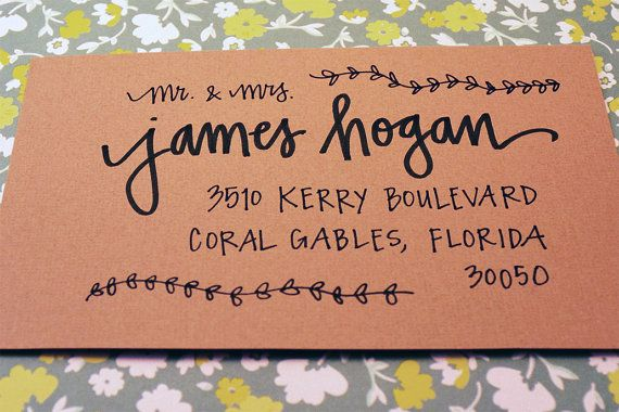 Custom Hand Lettering  Wedding or Event by MagnoliaLetterArts, $1.25