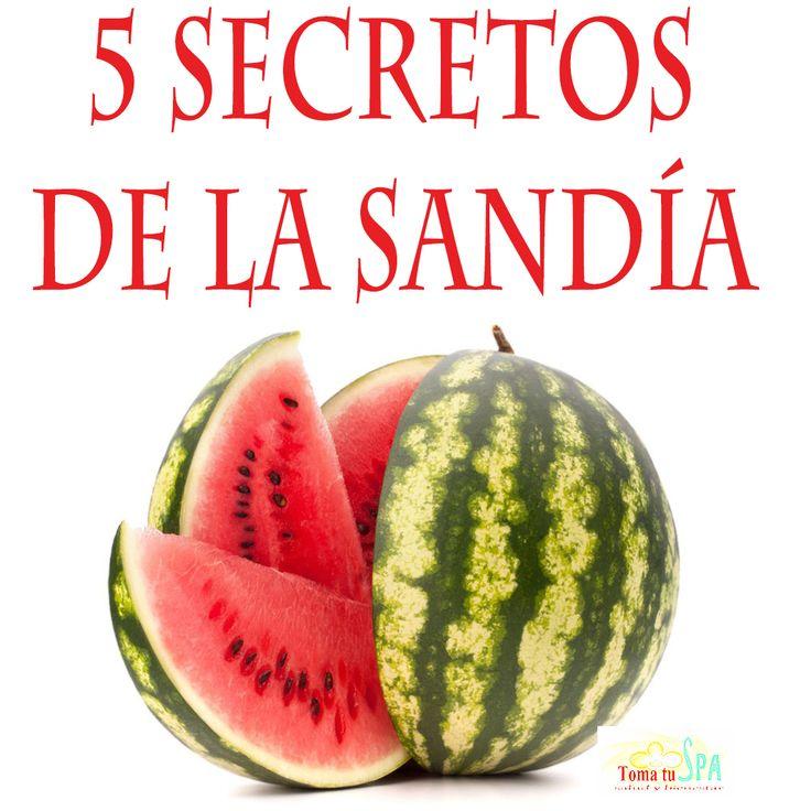 5 Cosas Que Tal Vez No Sabias De La Sandía  #Sandía #Nutrición #Salud #Beneficios #TomaTuSpa