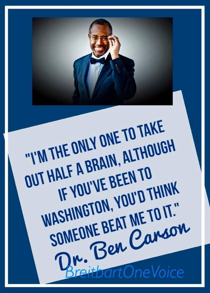 Dr. Ben Carson, I think he was too passive or nervous in the last debate