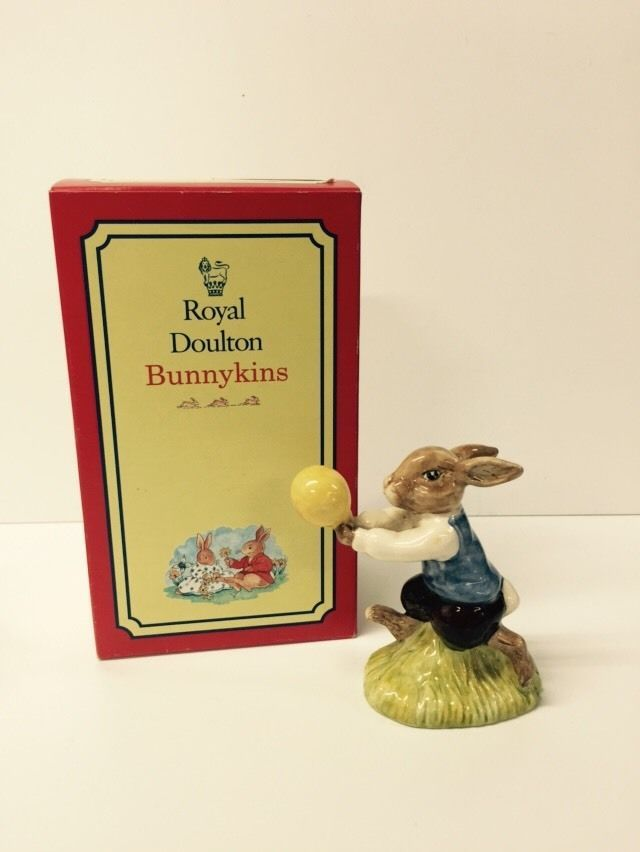BEAUTIFUL BOXED  HARRY  BUNNYKINS BY ROYAL DOULTON 1988 EDITION DB73