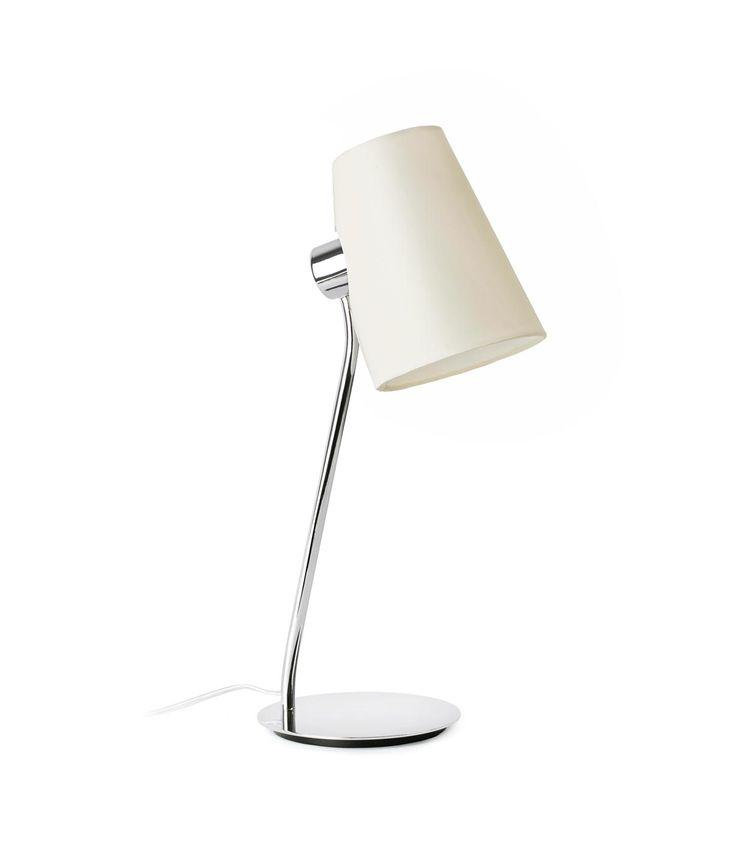 Lámpara de mesa LUPE cromo