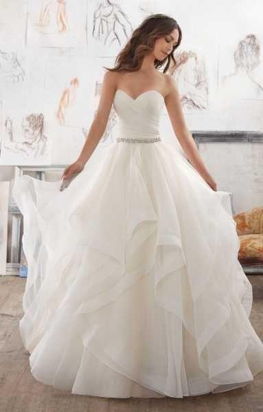 Mori Lee Bridal 5504 Wedding Dress – Part of the Mori Lee Blu collection