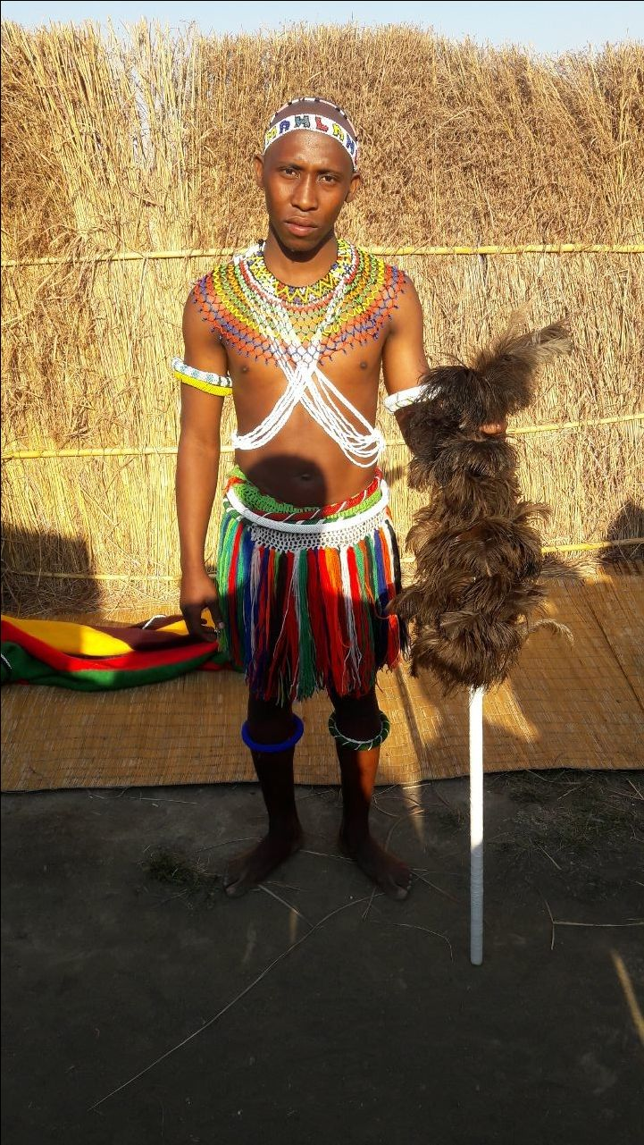 Ndebele boy. Mpumalanga, South Africa.